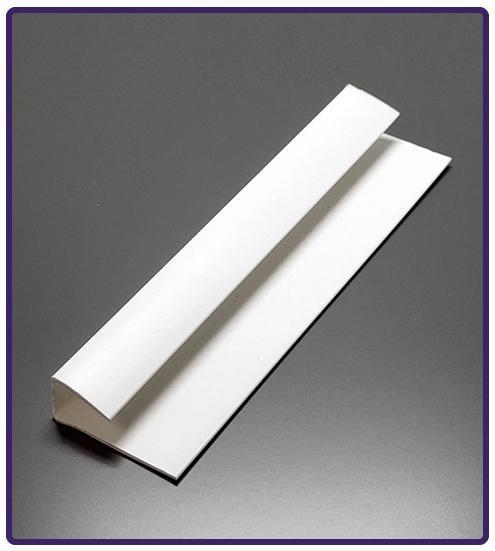 bathroom 10mm white trims for shower wall panels pvc